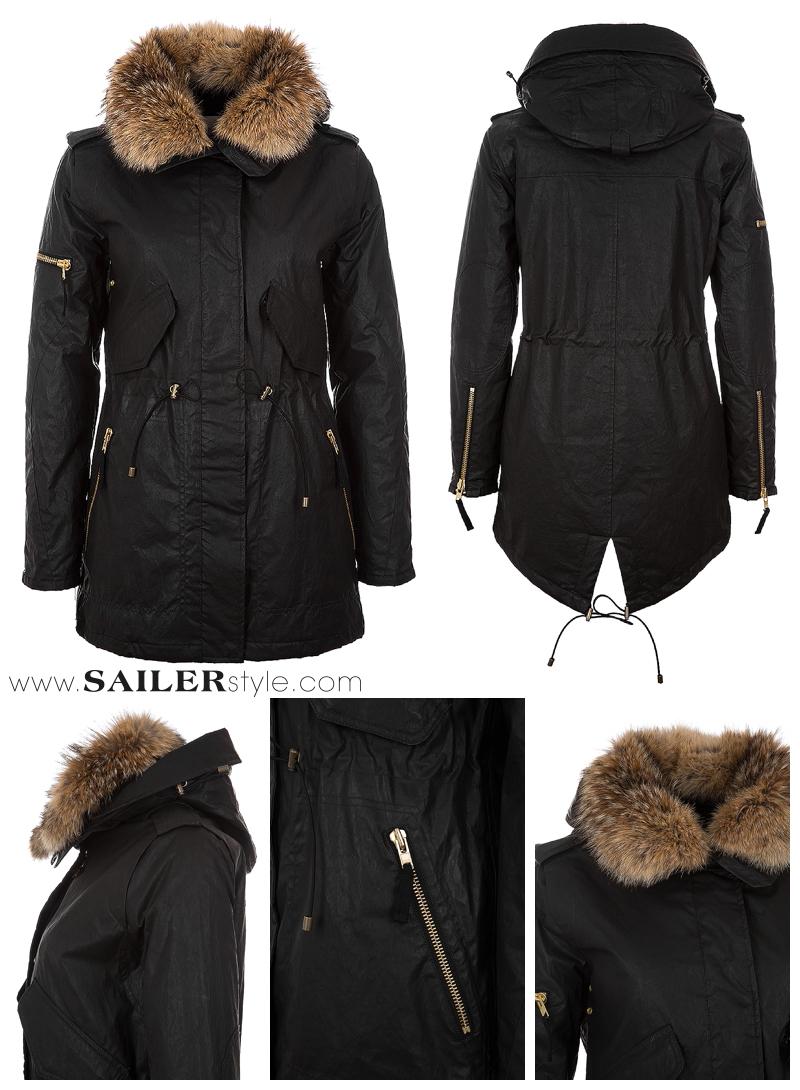 SAM-NY-Parka-schwarz-damen-bekleidung-mantel-gewachst-sailerstyle-onlineshop